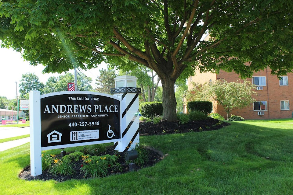 Andrews Pace Community Sign